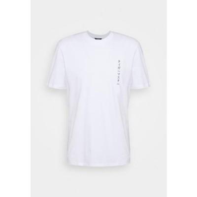 メンズ ファッション ONSAKI LIFE TEE - Print T-shirt - white