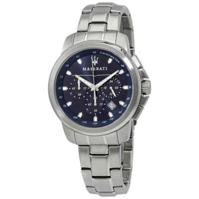 腕時計 マセラティ メンズ Maserati Traguardo Chronograph Black Dial Men's Watch R8873612002