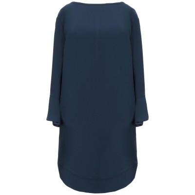 メルシー ..,MERCI ミニワンピース&ドレス ダークブルー 40 ポリエステル 100% ミニワンピース&ドレス