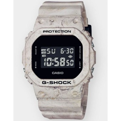 ジーショック G-SHOCK レディース 腕時計 DW5600WM-5 BEIGE