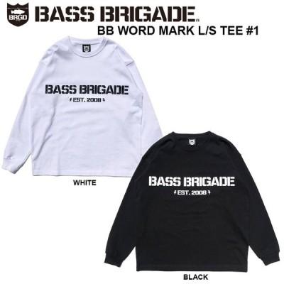 バスブリゲード  ロンT 長袖Tシャツ  BB WORD MARK L/S TEE #1 BRDG バスフィッシングバスフィッシング デプス