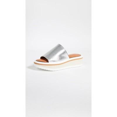 ロベール クレジュリー Clergerie レディース サンダル・ミュール シューズ・靴 Fastie Slide Sandals Silver
