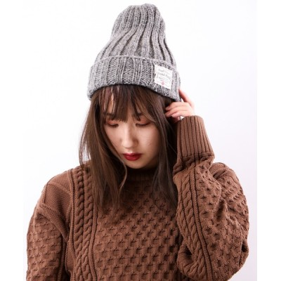 帽子 キャップ 【SI ORIGINAL】ARGYLL AND BUTE (アーガイル・アンド・ビュート)ハンドニット ワッチキャップ