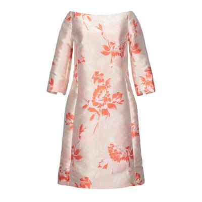 NATAN ミニワンピース&ドレス ローズピンク 36 ポリエステル 100% ミニワンピース&ドレス