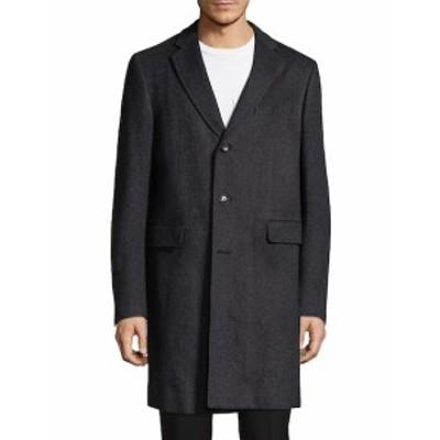 パル ジレリ Men Clothing Herringbone Long Coat