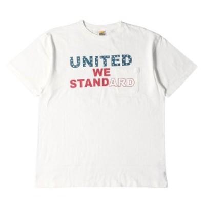 STANDARD CALIFORNIA スタンダードカリフォルニア Tシャツ 20SS メッセージロゴ プリント ポケット Tシャツ SD United We Standard T-Shi