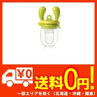 キッズミー 4か月からの離乳食フィーダー モグフィ 【日本正規品】 Mサイズ ライム
