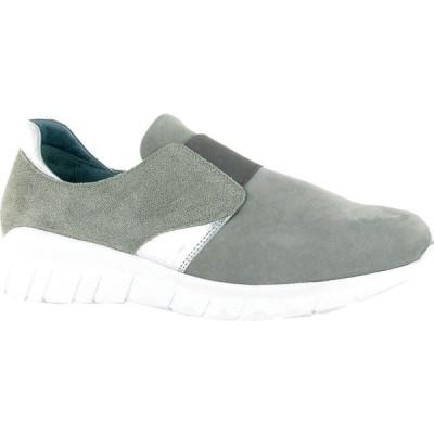 ナオト Naot レディース シューズ・靴 Intrepid Gray Nubuck/Speckled Beige Leather/Silver Mirror Leather
