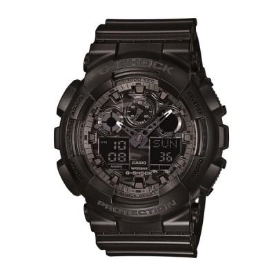 カシオ CASIO メンズ腕時計 G-SHOCK GA-100CF-1AJF ブラック/ブラック