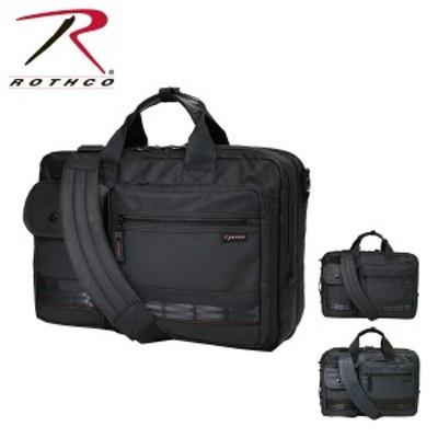 【レビューを書いて+5%】ロスコ ビジネスバッグ 3WAY A3 レッドライン メンズ 45005 ROTHCO | ブリーフケース ビジネスリュック 撥水