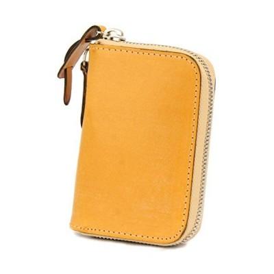 [コルボ] CORBO. カード入れ付き コインケース 小銭入れ ラウンドファスナー 1LD-0232 face Bridle Leather フェイス ブラ