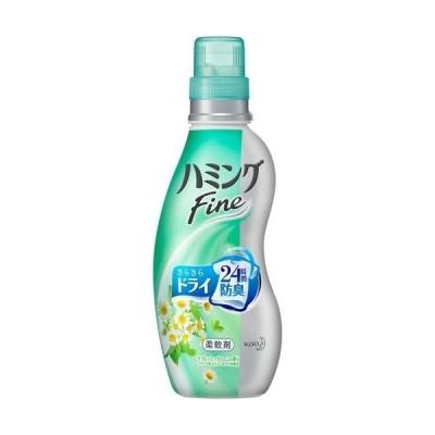 花王 ハミングファイン リフレッシュグリーンの香り 本体 570ml