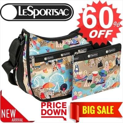 ◎◎レスポートサック バッグ ショルダーバッグ LESPORTSAC Classic Hobo 7520  E183 Caturday    比較対照価格14,300 円