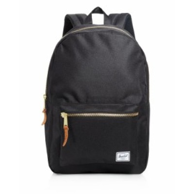 ハーシェルサプライ メンズ バックパック・リュックサック バッグ Settlement Backpack Black
