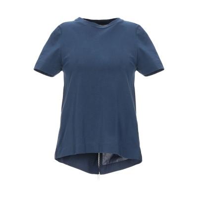 アルファスタジオ ALPHA STUDIO T シャツ ダークブルー 38 コットン 95% / ポリウレタン 5% T シャツ