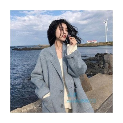 レディースコート アウター トレンチコート コート ロング ステンカラーコート 防寒 チェスターコート 暖かい ベルト付き 着痩せ