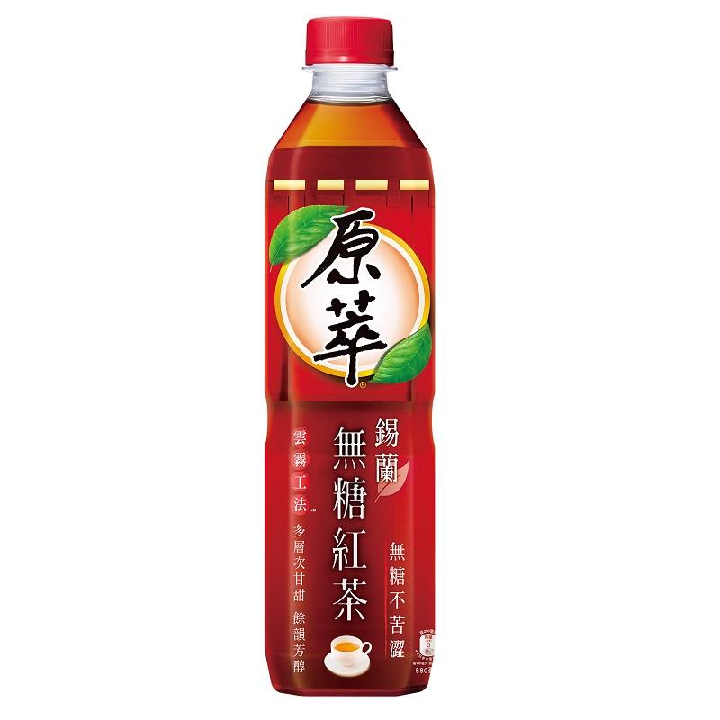 原萃錫蘭無糖紅茶580ml