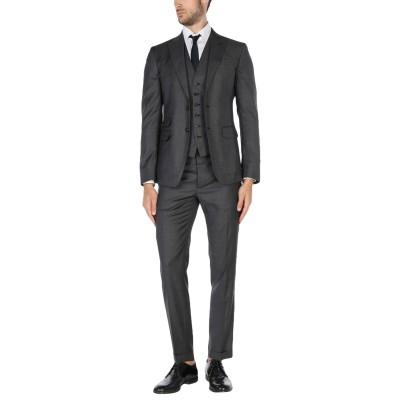 ディースクエアード DSQUARED2 スーツ 鉛色 48 バージンウール 100% スーツ