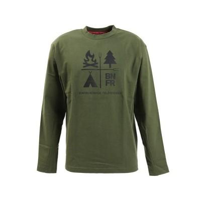 ボンファイア(Bonfire) Tシャツ メンズ 長袖 BNFR NATURE HC 50BNF10FMP2069 OLV (メンズ)