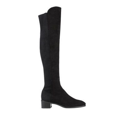 スチュワート ワイツマン STUART WEITZMAN ブーツ ブラック 41 革 / 紡績繊維 ブーツ