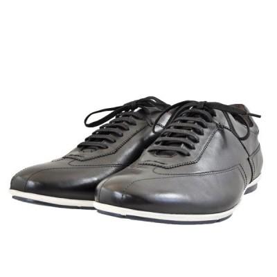 メンズ 靴 カジュアルシューズ マドラス モデロビータ レザースニーカー 送料無料 ブラック VT6922BLA