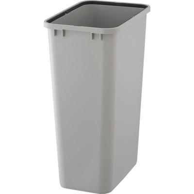 リス ゴミ箱 角型 ペール 本体 ライトグレー 45L ベルク 45S