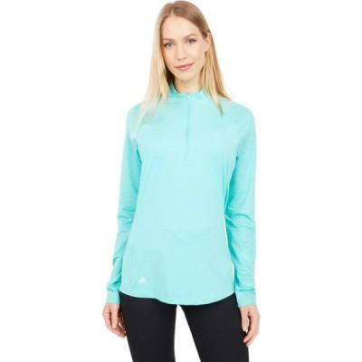 アディダス adidas Golf レディース ポロシャツ トップス UV Primegreen Long Sleeve Polo Shirt Acid Mint
