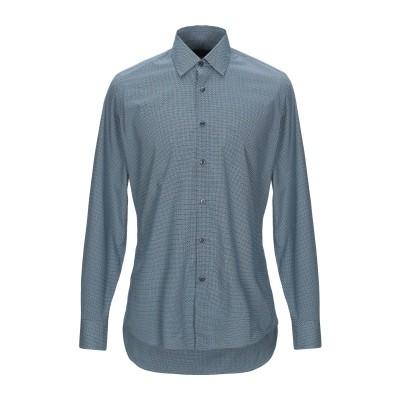 プラダ PRADA シャツ ブルーグレー 39 コットン 100% シャツ