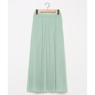 スカート 【le:ciel】プリーツスカート