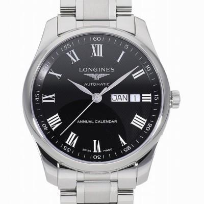 ロンジン マスター コレクション アニュアルカレンダー ブラック L2.910.4.51.6 新品 メンズ(男性用) 送料無料 腕時計 父の日