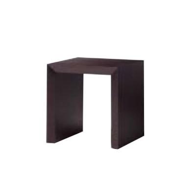 サイドテーブル (ウェンジ) MYT0186BD 幅50cm 奥行50cm 高さ52cm アッシュ突板 ウェンジ / 遠藤照明 AbitaStyle アビタスタイル