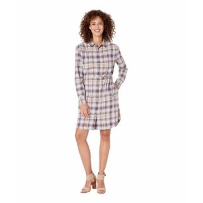 Pendleton ペンドルトン ドレス 一般 Long Sleeve Plaid Shirtdress