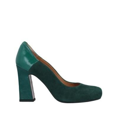 AUDLEY パンプス ファッション  レディースファッション  レディースシューズ  パンプス ダークグリーン