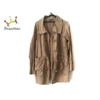 イーストボーイ EASTBOY コート サイズ9 M レディース ライトブラウン 春・秋物     スペシャル特価 20201122