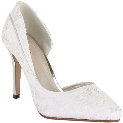 レインボー クラブ Rainbow Club レディース パンプス シューズ・靴 jessica satin court shoes Ivory