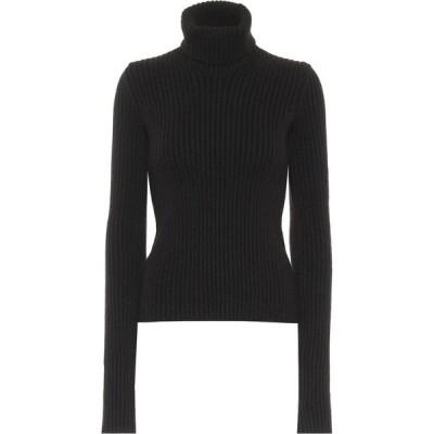 ボッテガ ヴェネタ Bottega Veneta レディース ニット・セーター トップス Ribbed-Knit Wool-Blend Sweater Fondente