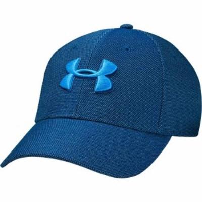 アンダーアーマー Under Armour メンズ 帽子 Heathered Blitzing Hat Graphite Blue/Electric