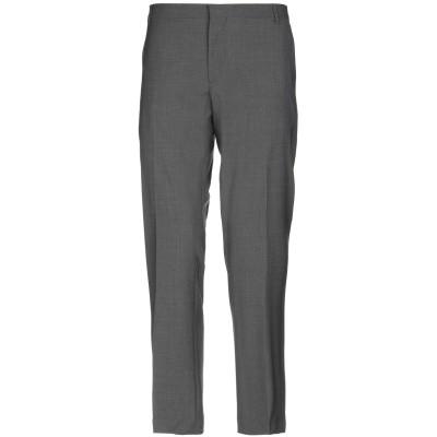アントレ アミ ENTRE AMIS パンツ 鉛色 34 バージンウール 98% / ポリウレタン 2% パンツ