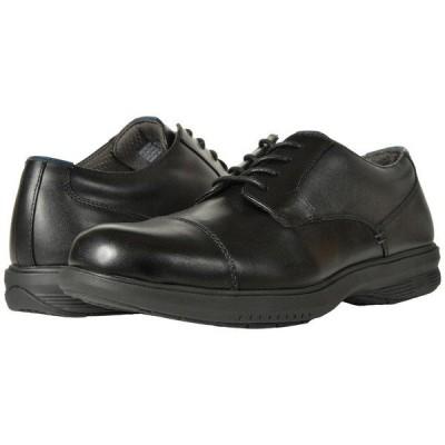 ノンブッシュ オックスフォード メンズ Melvin St. Cap Toe Oxford Black