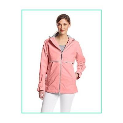 Charles River Apparel womens New Englander Wind & Waterproof Rain Jacket, Coral Reflective, M並行輸入品