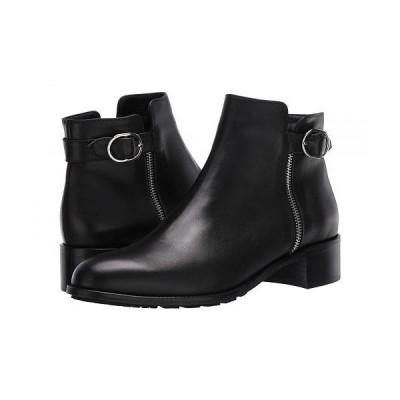 Aquatalia アクアタリア レディース 女性用 シューズ 靴 ブーツ アンクル ショートブーツ Orleena - Black Calf