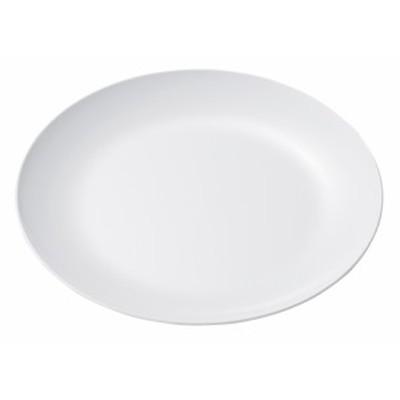 エンテック メラミン食器 白 平皿 メタ型 9インチ No.30白