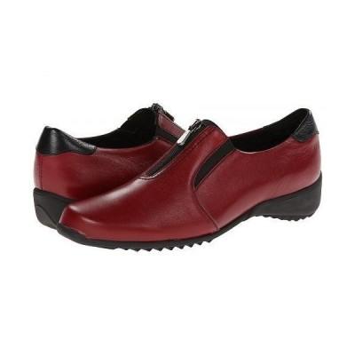 Munro ムンロ レディース 女性用 シューズ 靴 ローファー ボートシューズ Berkley - Red Leather