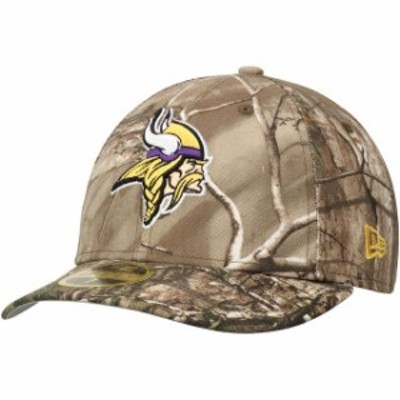 New Era ニュー エラ スポーツ用品  New Era Minnesota Vikings Realtree Camo Low Profile 59FIFTY Hat