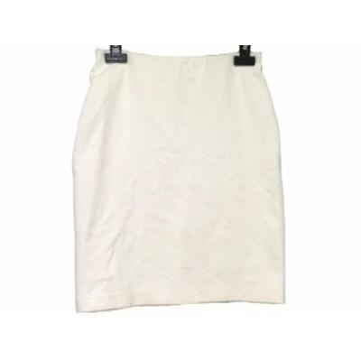 ニジュウサンク 23区 スカート サイズ36 S レディース アイボリー【還元祭対象】【中古】