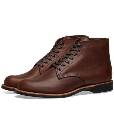 """レッドウィング Red Wing メンズ ブーツ ワークブーツ シューズ・靴 8064 Heritage Work 6"""" Merchant Boot Amber Harness"""