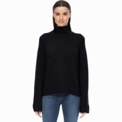 (取寄)360 Cashmere レディース レイトン セーター 360 Cashmere Women Leighton Sweater Black 送料無料