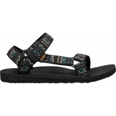テバ メンズ サンダル シューズ Teva Men's Original Universal Sandals Black/Taupe Heather