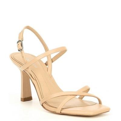 ジャンビニ レディース サンダル シューズ Neveena Leather Square Toe Dress Sandals