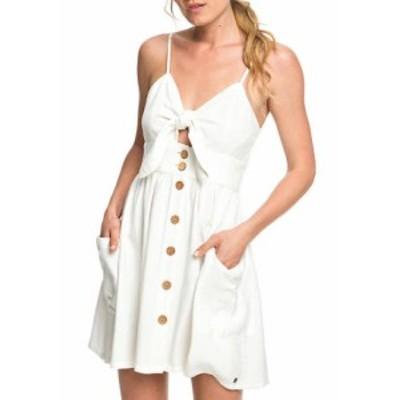 ロキシー レディース ワンピース トップス Under the Cali Sun Dress Marshmallow White